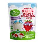 Kiwigarden Greek style yoghurt & strawberry slices