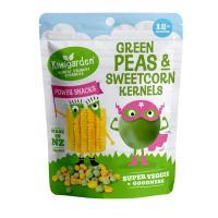 Kiwigarden Green Peas & Sweet Corn Kernels