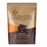 The Remarkable Chocolate Co Bark 135g - Dark Chocolate, Hazelnut & Orange Zest