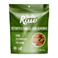 Hello Raw Almonds 80g - Chilli & Lime