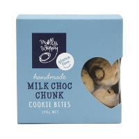 Molly Woppy Cookie Bites 140g - Gf Milk Choccy Chunk