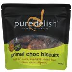 Pure Delish Biscuits 220g - Primal Choc