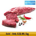 NZ Grass-Fed Eye Fillet Whole Piece - Frozen 2.8kg min