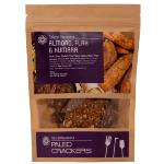 Natural Abundance Paleo Crackers 100g - Almond, Kumara And Flax