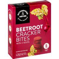 Rutherford & Meyer Cracker Bites 140g - Beetroot