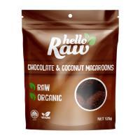 Hello Raw Macroons 125g - Chocolate & Coconut