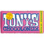 Tony's Chocolonely Blocks 180g - White Chocolate Raspberry Popping Candy