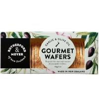 Rutherford & Meyer Gourmet Wafers 60g - Garlic & Olive Oil
