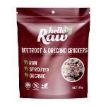 Hello Raw Crackers 100g - Beetroot & Oregano