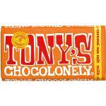 Tony's Chocolonely Blocks 180g - Milk Chocolate Caramel Sea Salt
