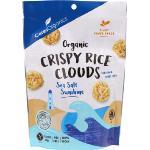 Ceres Organics Crispy Rice Clouds 50g - Sea Salt Sunshine