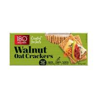180 Degrees Oat Crackers 150g - Walnut Oat