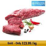 NZ Grass-Fed Eye Fillet Whole Piece - Frozen 3.2kg min