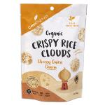 Ceres Organics Crispy Rice Clouds 50g - Cheezy Onion Charm