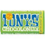 Tony's Chocolonely Blocks 180g - Dark Chocolate Almond Sea Salt