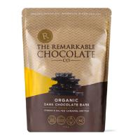 The Remarkable Chocolate Co Bark 135g - Dark Chocolate, Ginger & Salted Caramel