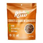Hello Raw Crackers 100g - Carrot & Cashew