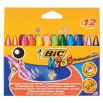 Bic KIDS CRAYON PLASTIDECOR PK12