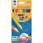 Bic KIDS PENCIL COL PNCL PK12