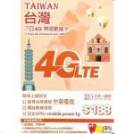 Happy Telecom Taiwan 7-Day Unlimited Data Prepaid SIM Card