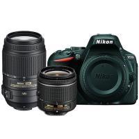 Nikon D5500 + AF-P 18-55 + 55-300