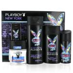Playboy New York EDT 100ml Mens 4pcs