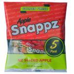 Fresh Snappz Apples Sliced Apple 5x80g 400g