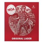 Moa Lager Original 330ml bottles 12pk