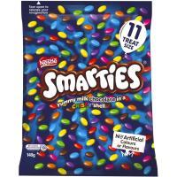 Nestle Smarties Chocolates Fun Pack  140g