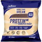 Justine's Box Of 12 X 80g Double Choc Dream Keto Friendly Protein Brownies