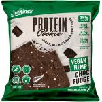 Justine's Box Of 12 X 85g Vegan Hemp Choc Fudge Keto Friendly Protein Cookie