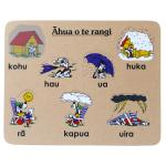 Weather Maori Wooden Puzzle