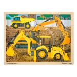 Construction Wooden Jigsaw Puzzle