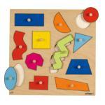 Educo Geometric Shapes Peg Puzzle