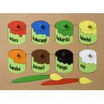 Maori Paint Pots Puzzle