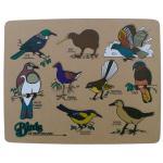 Birds Maori Wooden Puzzle