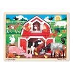 Barnyard Buddies Wooden Jigsaw Puzzle