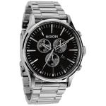 Nixon Black The Sentry Chrono Watch