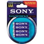 Sony (AM4B4) AAA Alkaline Batteries 4 Pack 1.5V
