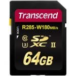 Transcend Ultimate UHS-II SDHC Class 10 64GB