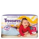Treasures Comfort Crawler Nappies 6-11kg bulk pack 40pk
