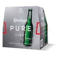 Steinlager Pure Lager Light 3960ml (330ml x 12pk)