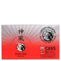 Liberty Brewing Co Lager Divine Wind Japanese 1980ml (330ml x 6pk)