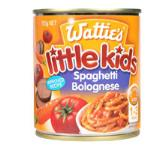 Wattie's Little Kids Stage 4 Kids Meal Spaghetti Bolognese 220g
