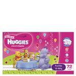 Huggies Ultra Dry Toddler Girl Nappies 10-15kg Size 4 jumbo pack 72pk