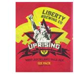 Liberty Brewing Co Craft Beer West Auckland Pale Ale 330ml bottles 6pk