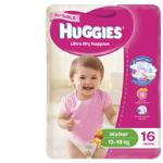 Huggies Ultra Dry Walker Girl Nappies 13-18kg Size 5 16pk