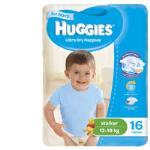 Huggies Ultra Dry Walker Boy Nappies 13-18kg Size 5 16pk