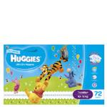 Huggies Ultra Dry Toddler Boy Nappies 10-15kg Size 4 jumbo pack 72pk