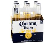 Corona Extra Lager 355ml Bottles 6pk